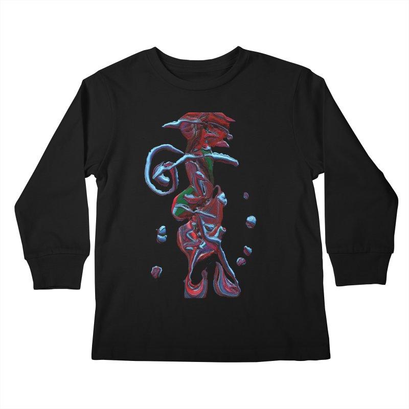 Objets de Culte Kids Longsleeve T-Shirt by Korok Studios Artist Shop