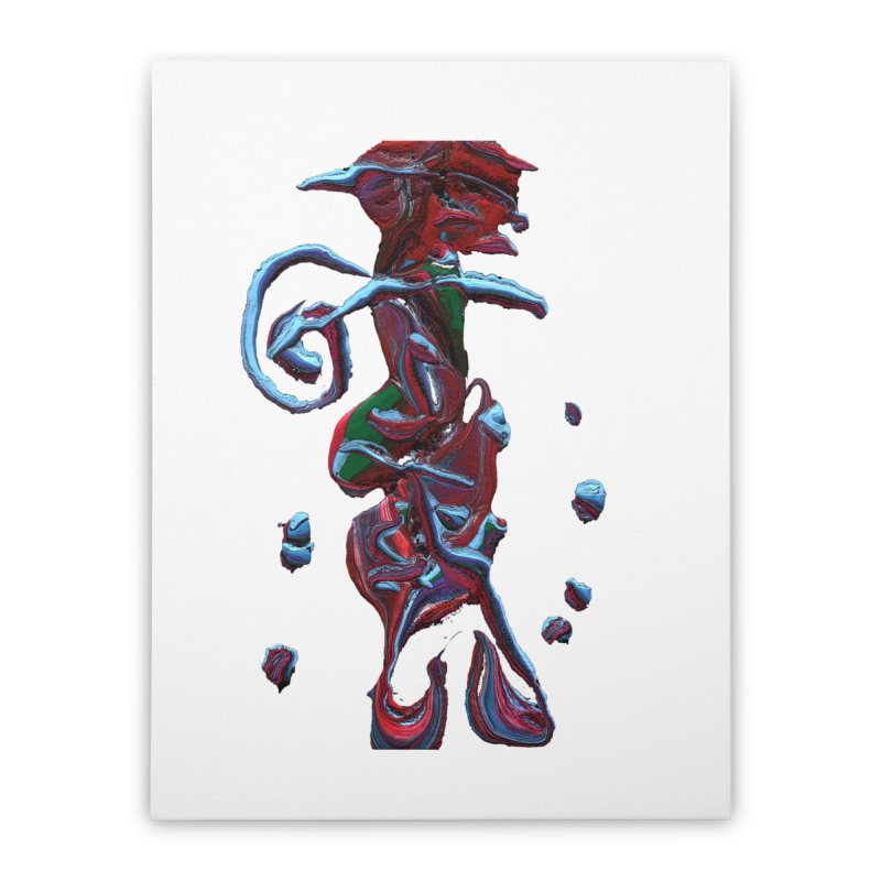 Objets de Culte Home Stretched Canvas by Korok Studios Artist Shop