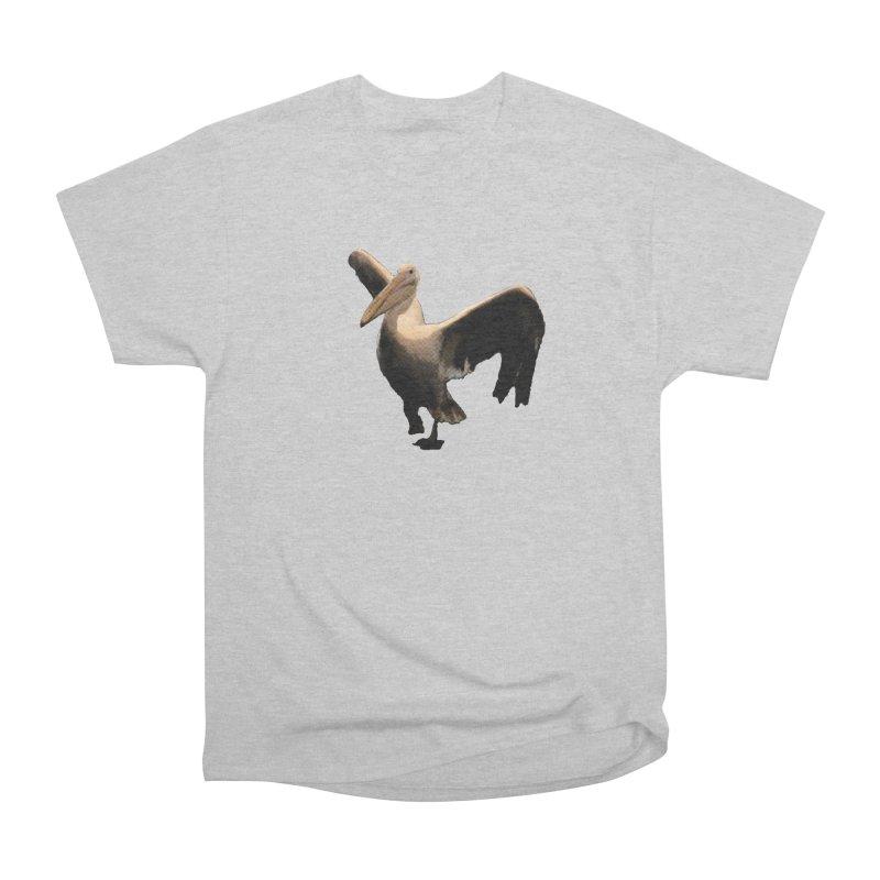 Pelican 7265 Men's Heavyweight T-Shirt by Korok Studios Artist Shop