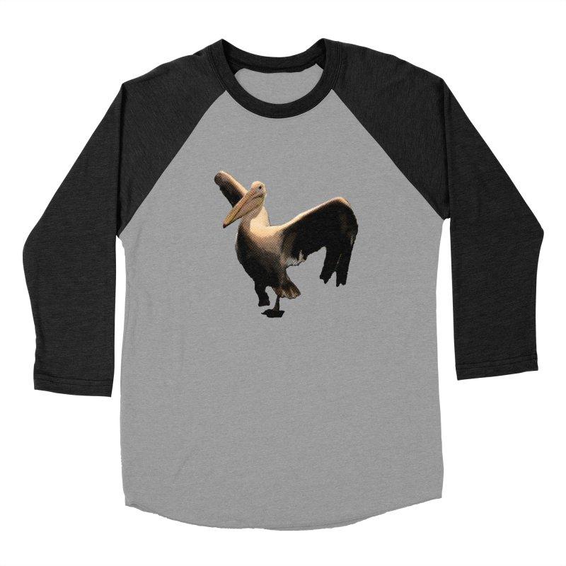 Pelican 7265 Women's Baseball Triblend Longsleeve T-Shirt by Korok Studios Artist Shop
