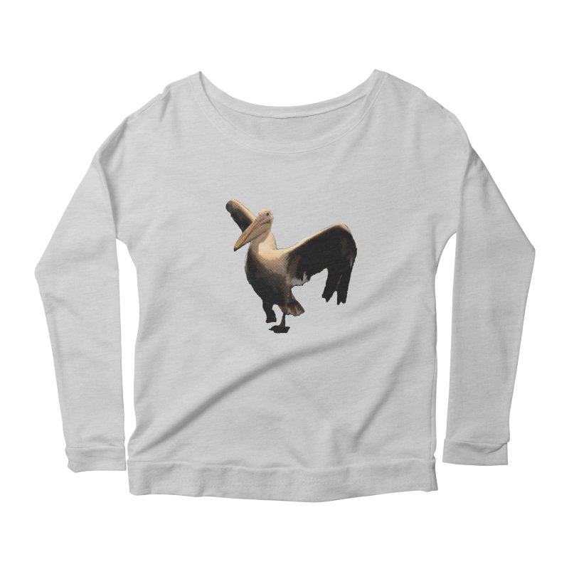 Pelican 7265 Women's Scoop Neck Longsleeve T-Shirt by Korok Studios Artist Shop