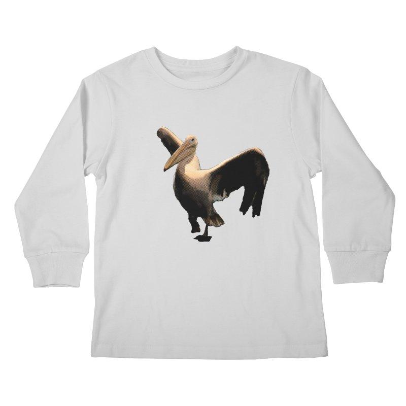Pelican 7265 Kids Longsleeve T-Shirt by Korok Studios Artist Shop
