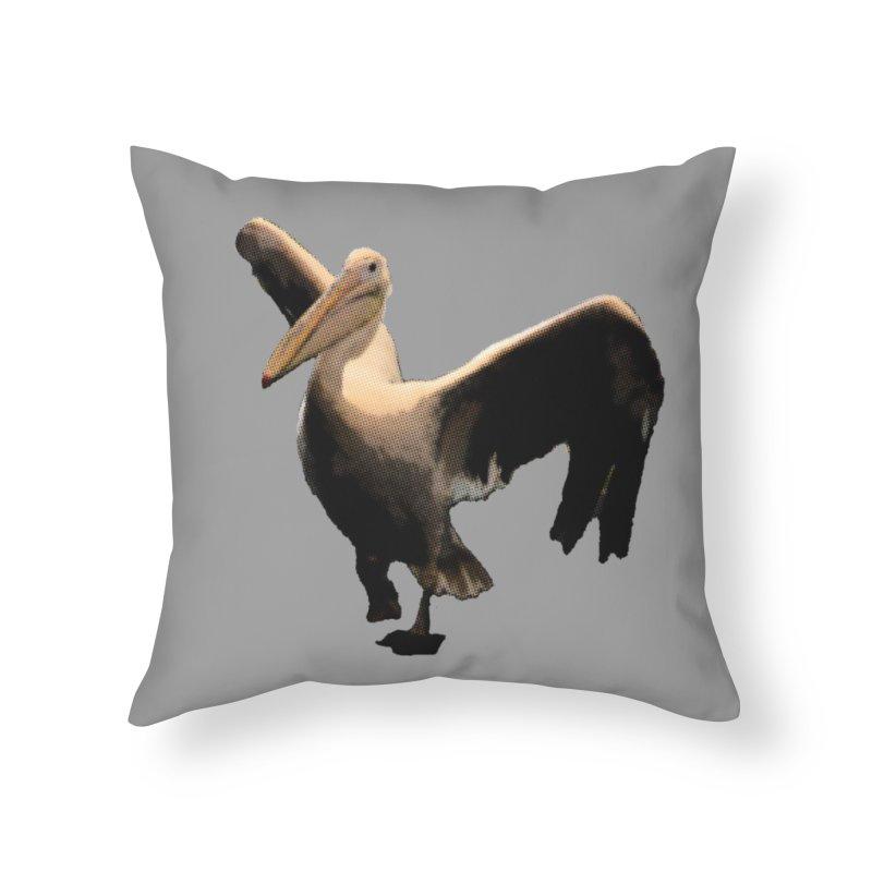 Pelican 7265 Home Throw Pillow by Korok Studios Artist Shop