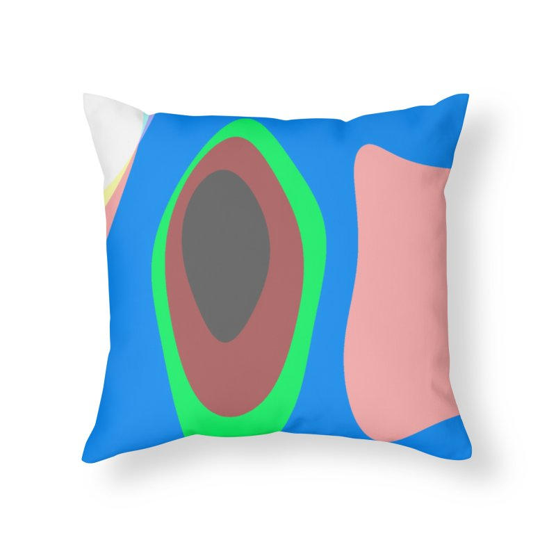 Celebrate Home Throw Pillow by Korok Studios Artist Shop