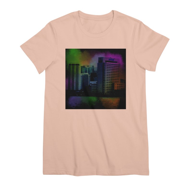 Dark City 4981 Women's Premium T-Shirt by Korok Studios Artist Shop