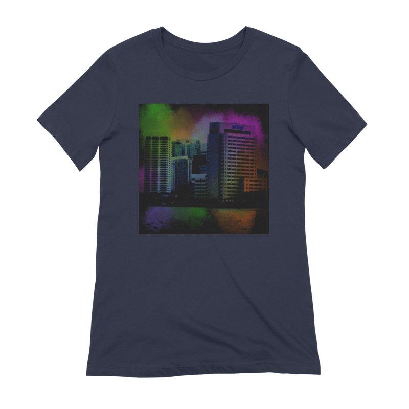 Dark City 4981 Women's Extra Soft T-Shirt by Korok Studios Artist Shop