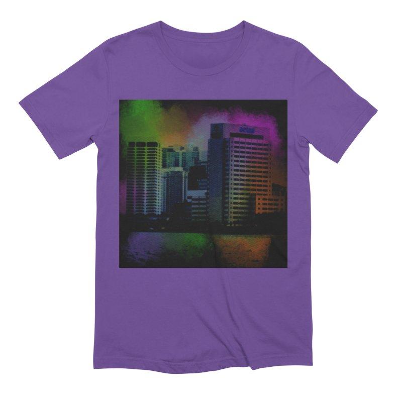 Dark City 4981 Men's Extra Soft T-Shirt by Korok Studios Artist Shop