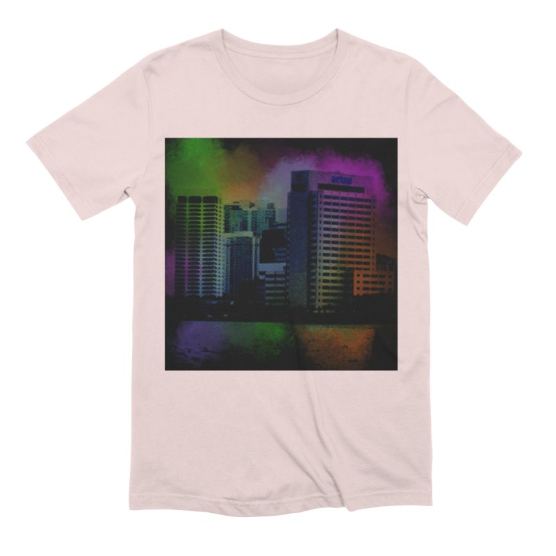 Dark City 4981 Men's Extra Soft T-Shirt by Korok Studios Artist Shop