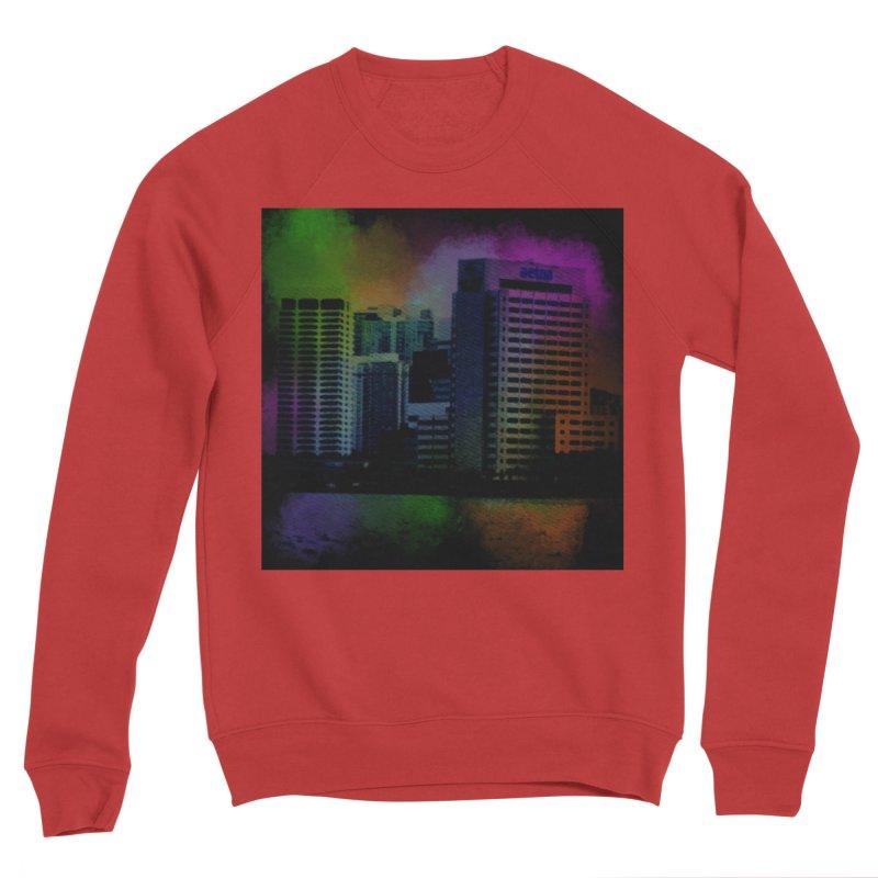 Dark City 4981 Women's Sponge Fleece Sweatshirt by Korok Studios Artist Shop