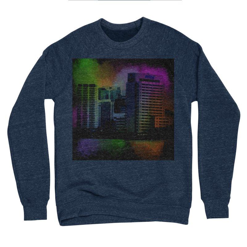 Dark City 4981 Men's Sponge Fleece Sweatshirt by Korok Studios Artist Shop