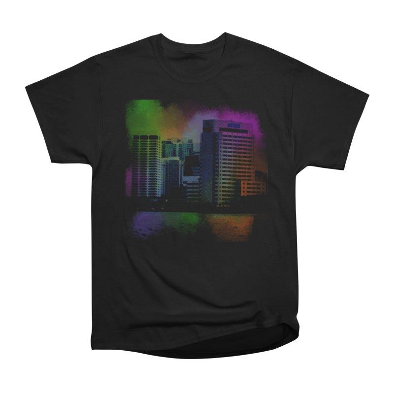 Dark City 4981 Men's Heavyweight T-Shirt by Korok Studios Artist Shop