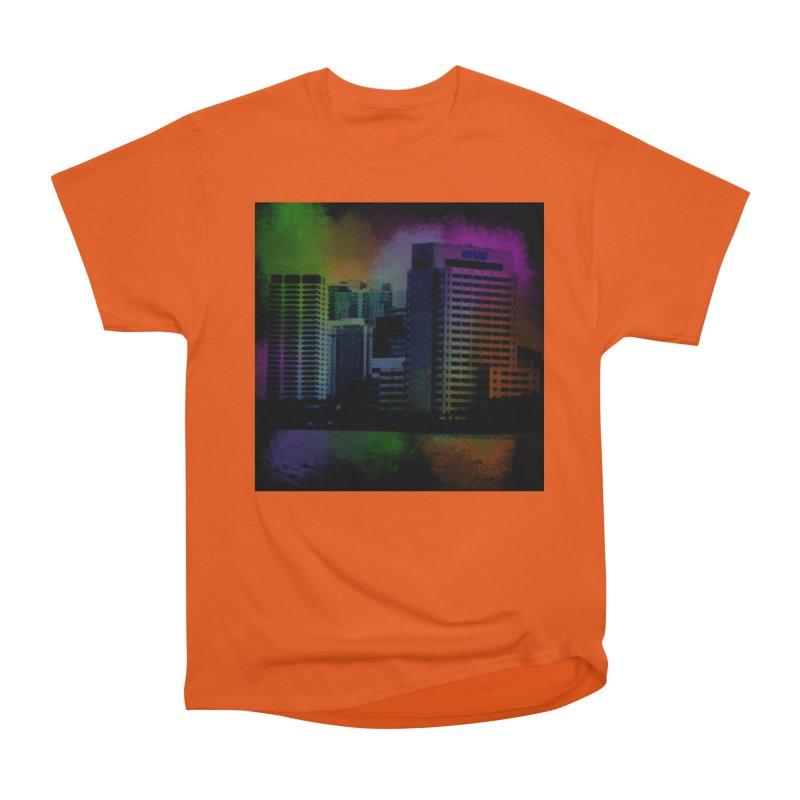 Dark City 4981 Women's Heavyweight Unisex T-Shirt by Korok Studios Artist Shop