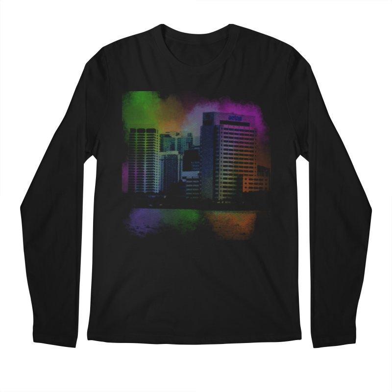 Dark City 4981 Men's Regular Longsleeve T-Shirt by Korok Studios Artist Shop