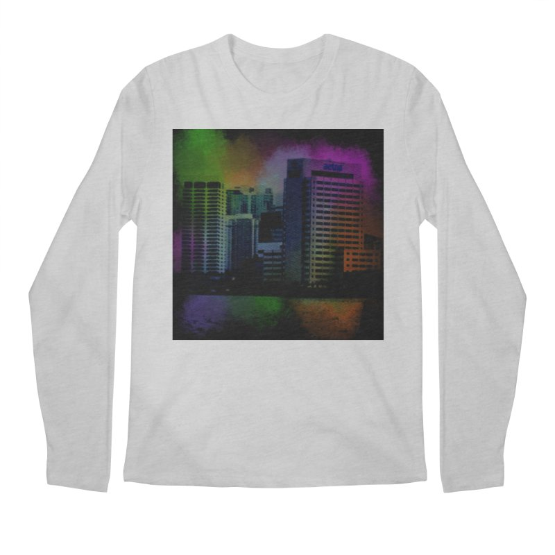 Dark City 4981 Men's Regular Longsleeve T-Shirt by Korok Studios Artist Shop