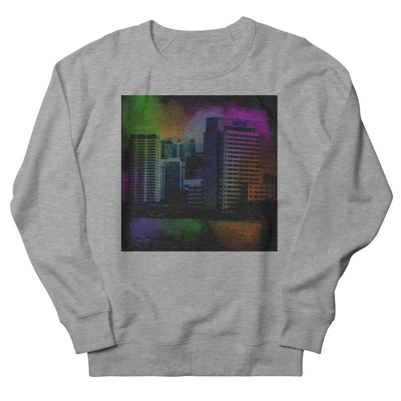 Dark City 4981 Women's French Terry Sweatshirt by Korok Studios Artist Shop