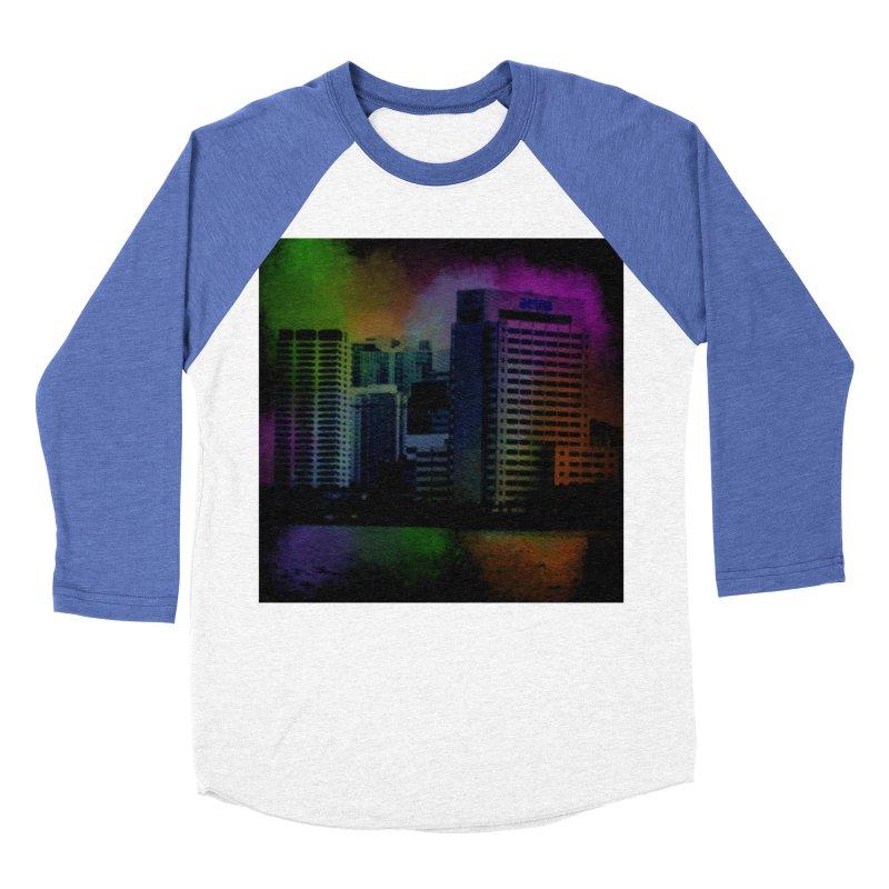 Dark City 4981 Women's Baseball Triblend Longsleeve T-Shirt by Korok Studios Artist Shop