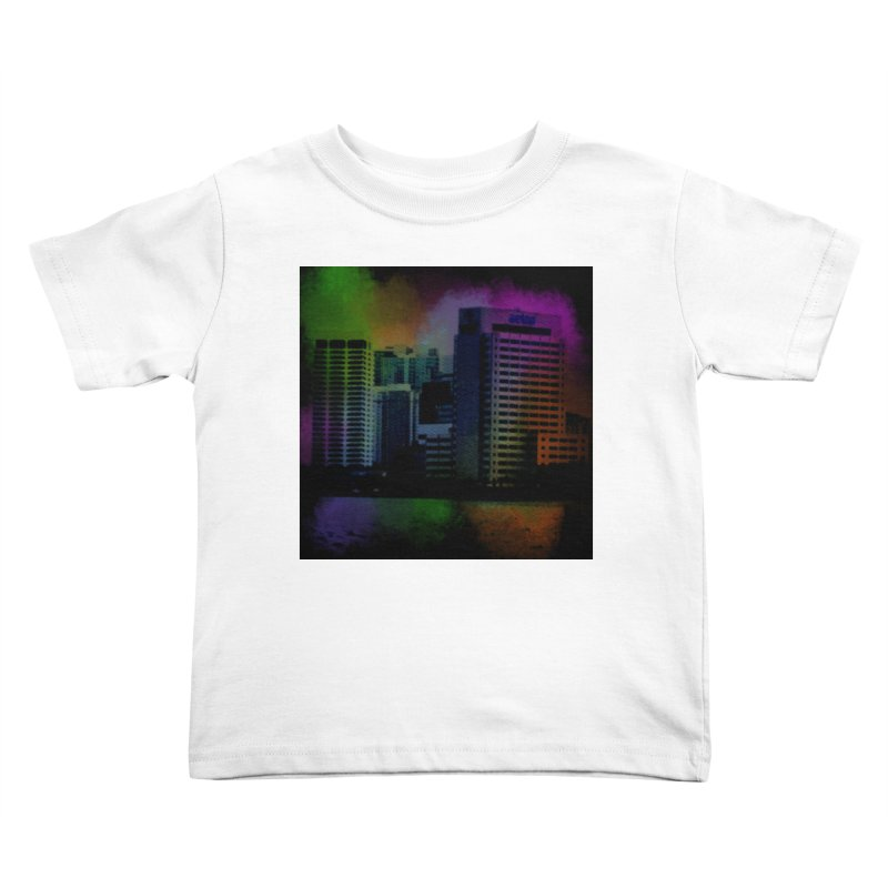 Dark City 4981 Kids Toddler T-Shirt by Korok Studios Artist Shop