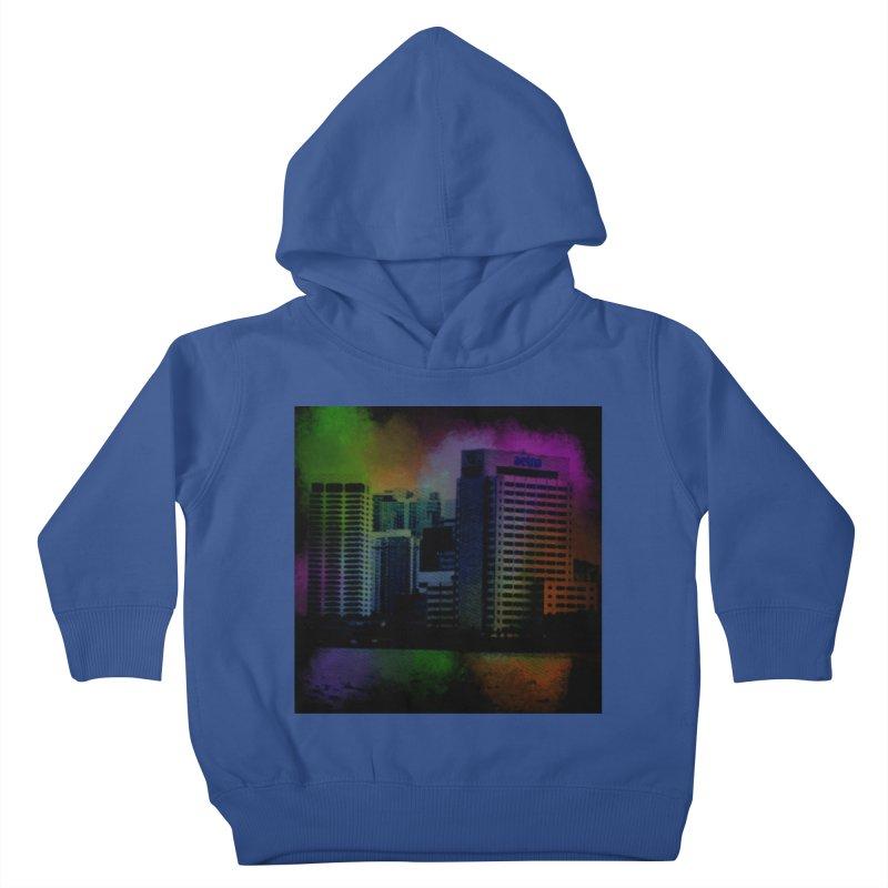 Dark City 4981 Kids Toddler Pullover Hoody by Korok Studios Artist Shop