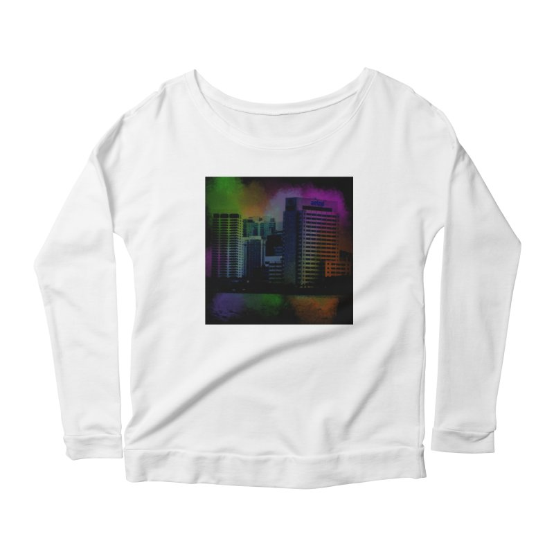 Dark City 4981 Women's Scoop Neck Longsleeve T-Shirt by Korok Studios Artist Shop