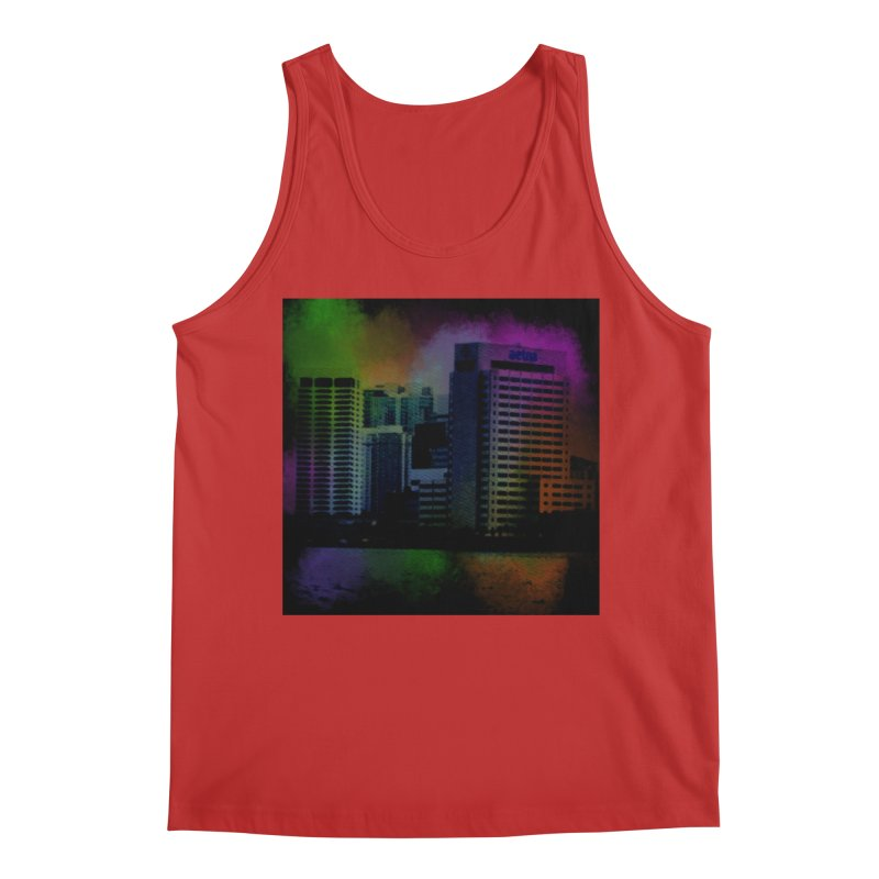 Dark City 4981 Men's Regular Tank by Korok Studios Artist Shop