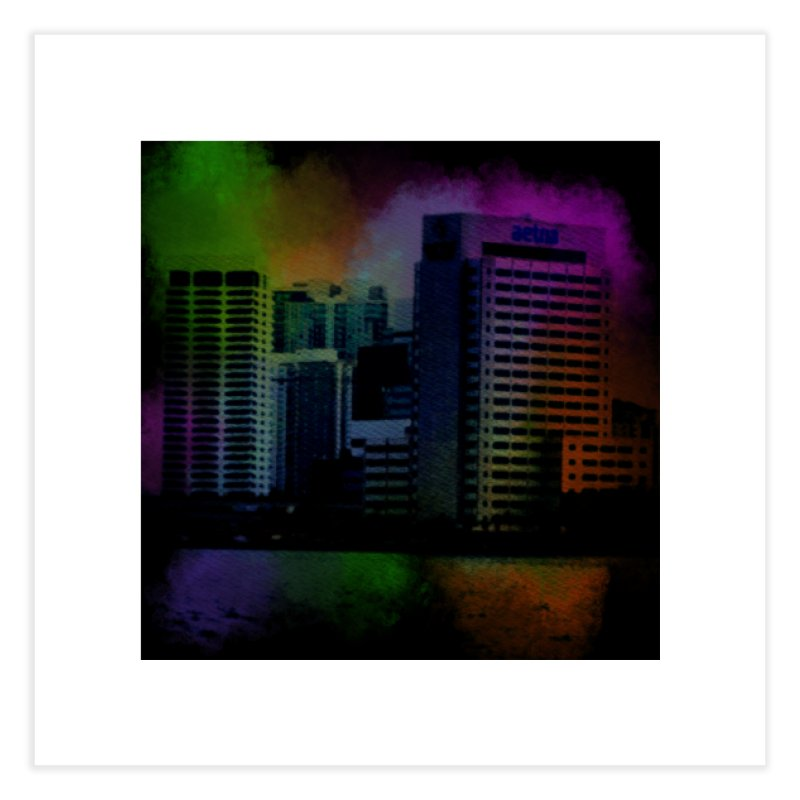 Dark City 4981 Home Fine Art Print by Korok Studios Artist Shop