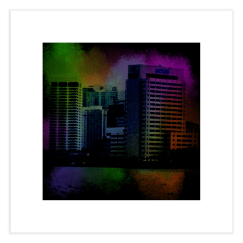 Dark City 4981 Home Fine Art Print by Korok Studios Artist Shop