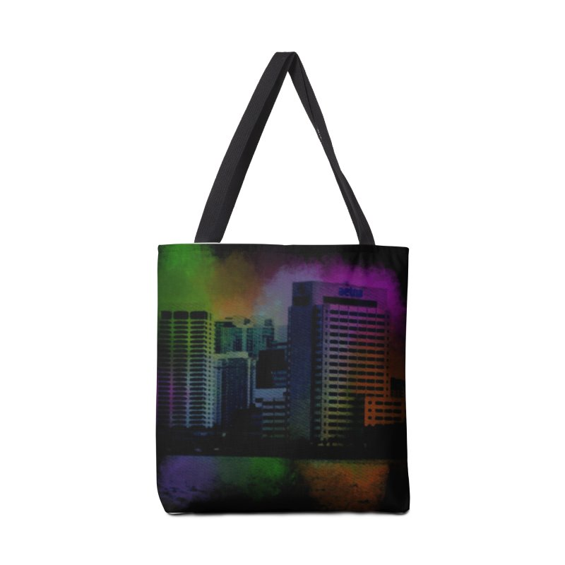 Dark City 4981 Accessories Tote Bag Bag by Korok Studios Artist Shop