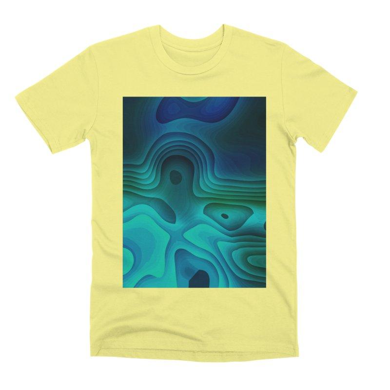 Modern Cave Paintings Men's Premium T-Shirt by Korok Studios Artist Shop