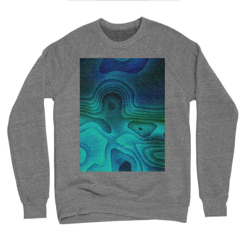 Modern Cave Paintings Men's Sponge Fleece Sweatshirt by Korok Studios Artist Shop