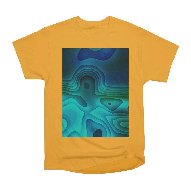 Modern Cave Paintings Men's Heavyweight T-Shirt by Korok Studios Artist Shop