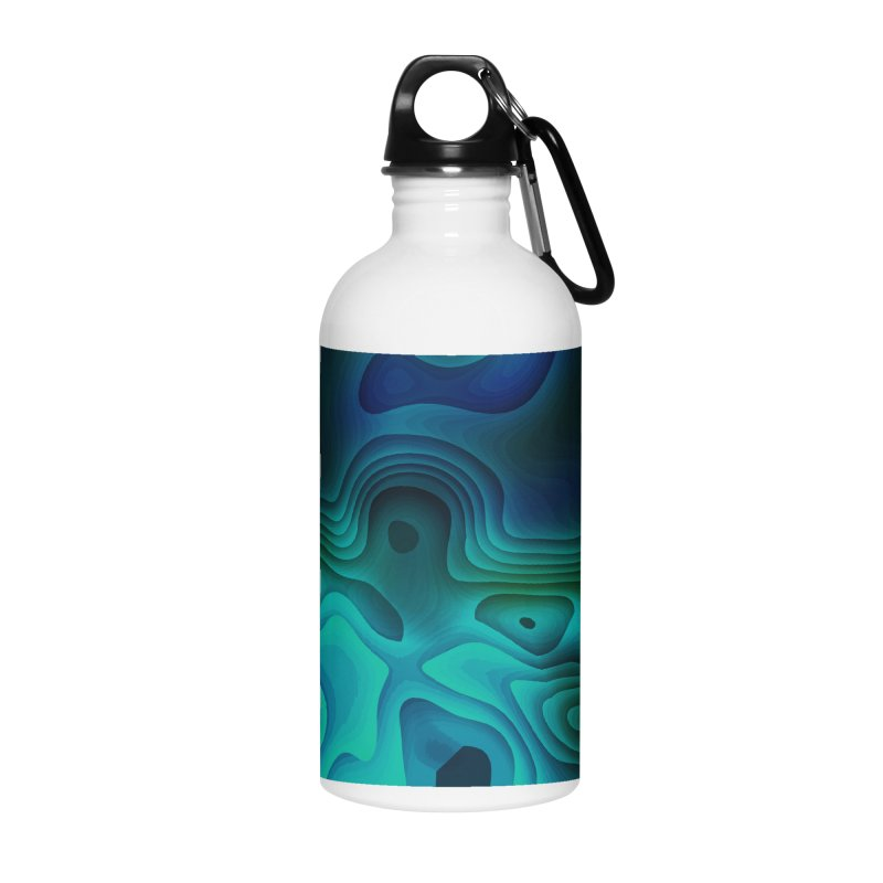 Modern Cave Paintings Accessories Water Bottle by Korok Studios Artist Shop