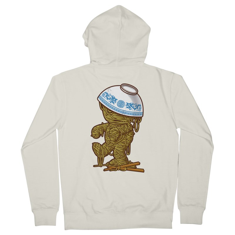 'RAMEN'SES RETURN 2 Women's Zip-Up Hoody by dzeri29's Artist Shop