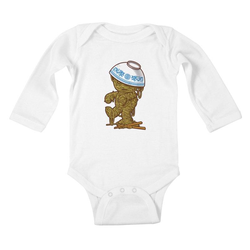 'RAMEN'SES RETURN 2 Kids Baby Longsleeve Bodysuit by dzeri29's Artist Shop