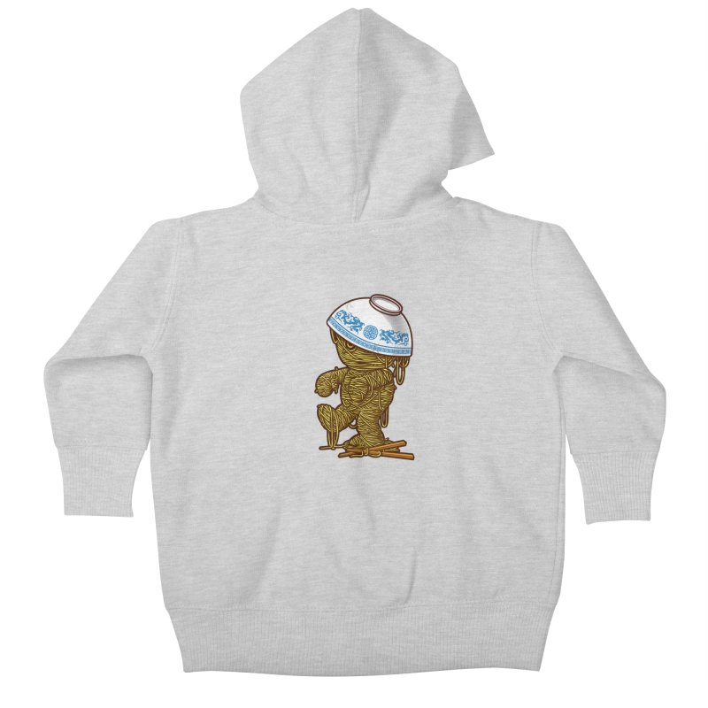 'RAMEN'SES RETURN 2 Kids Baby Zip-Up Hoody by dzeri29's Artist Shop