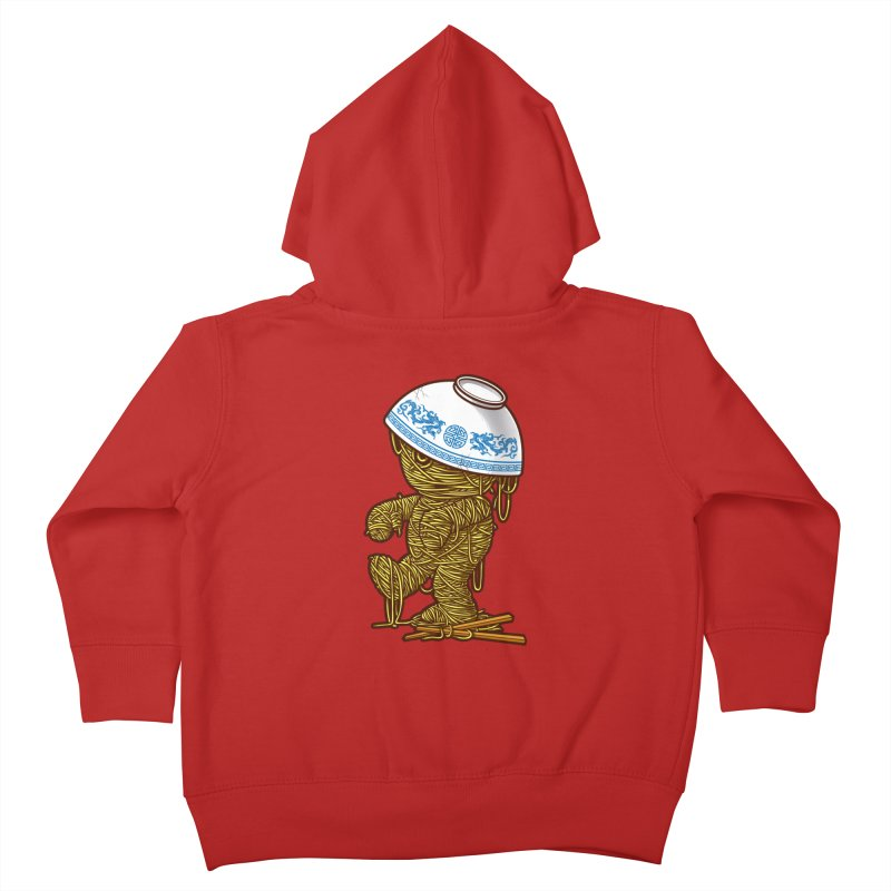 'RAMEN'SES RETURN 2 Kids Toddler Zip-Up Hoody by dzeri29's Artist Shop