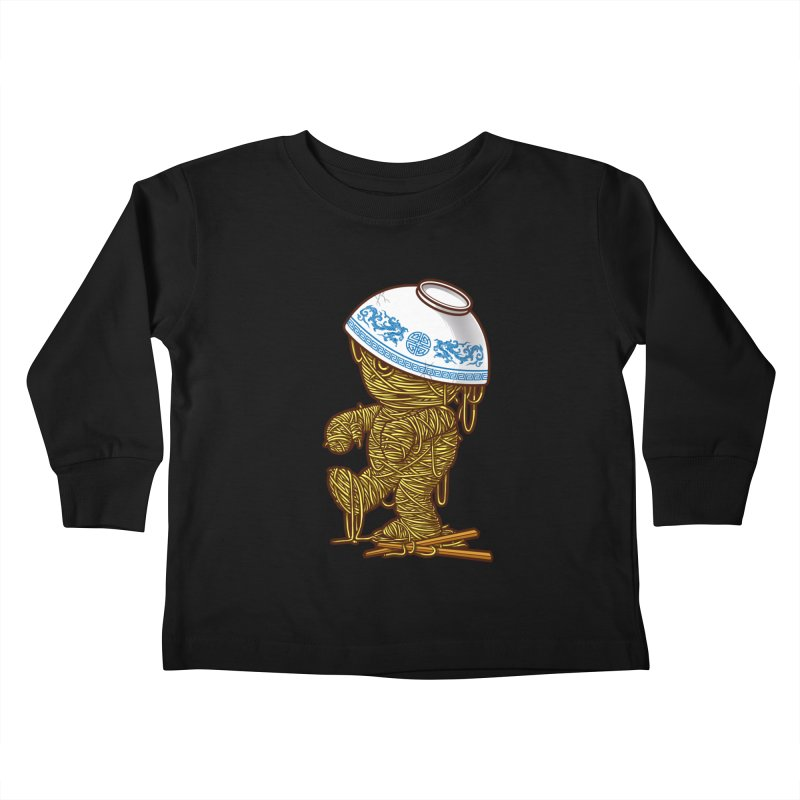 'RAMEN'SES RETURN 2 Kids Toddler Longsleeve T-Shirt by dzeri29's Artist Shop
