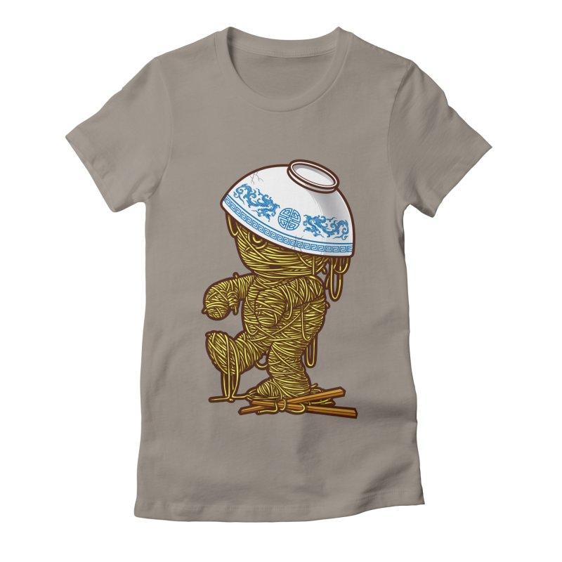 'RAMEN'SES RETURN 2 Women's Fitted T-Shirt by dzeri29's Artist Shop