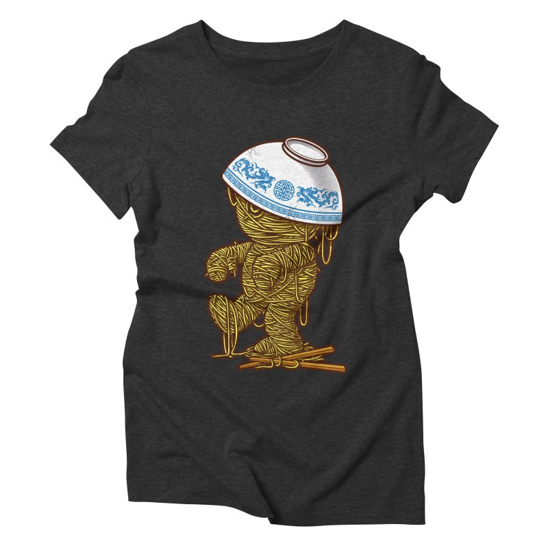 'RAMEN'SES RETURN 2 Women's Triblend T-shirt by dzeri29's Artist Shop