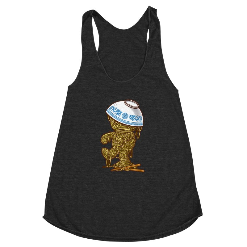 'RAMEN'SES RETURN 2 Women's Racerback Triblend Tank by dzeri29's Artist Shop