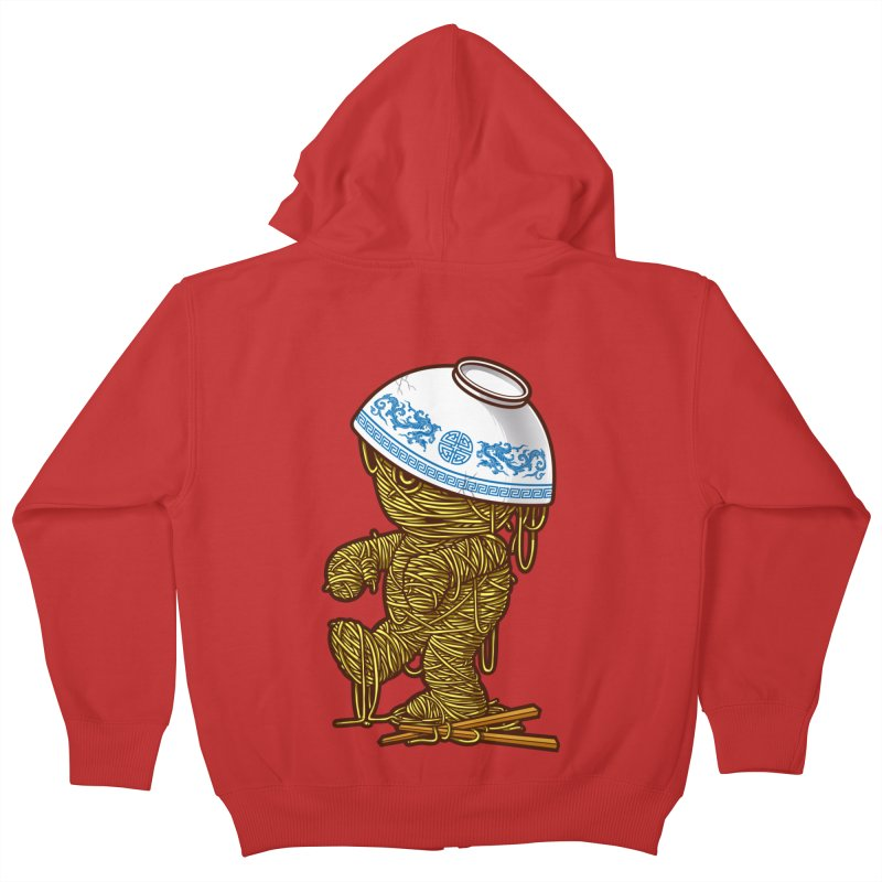 'RAMEN'SES RETURN 2 Kids Zip-Up Hoody by dzeri29's Artist Shop