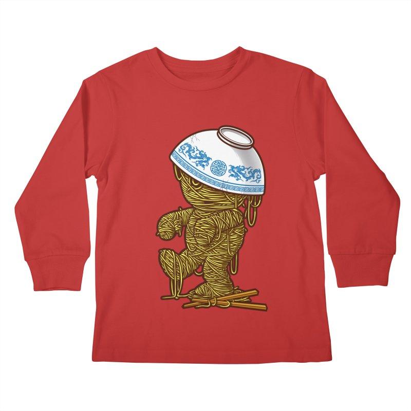 'RAMEN'SES RETURN 2 Kids Longsleeve T-Shirt by dzeri29's Artist Shop
