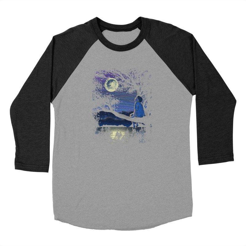 WISHFUL THINKING Men's Baseball Triblend Longsleeve T-Shirt by dzeri29's Artist Shop