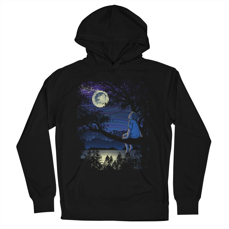 WISHFUL THINKING Women's Pullover Hoody by dzeri29's Artist Shop