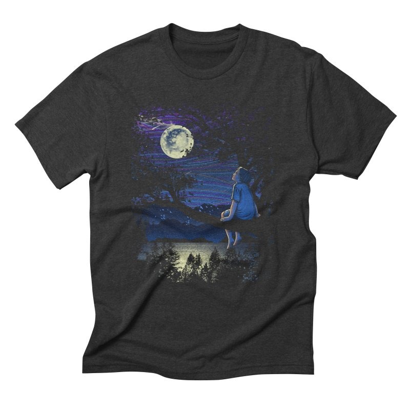 WISHFUL THINKING Men's Triblend T-Shirt by dzeri29's Artist Shop