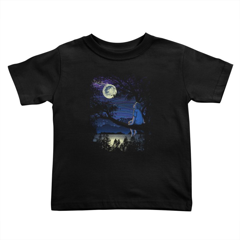 WISHFUL THINKING Kids Toddler T-Shirt by dzeri29's Artist Shop