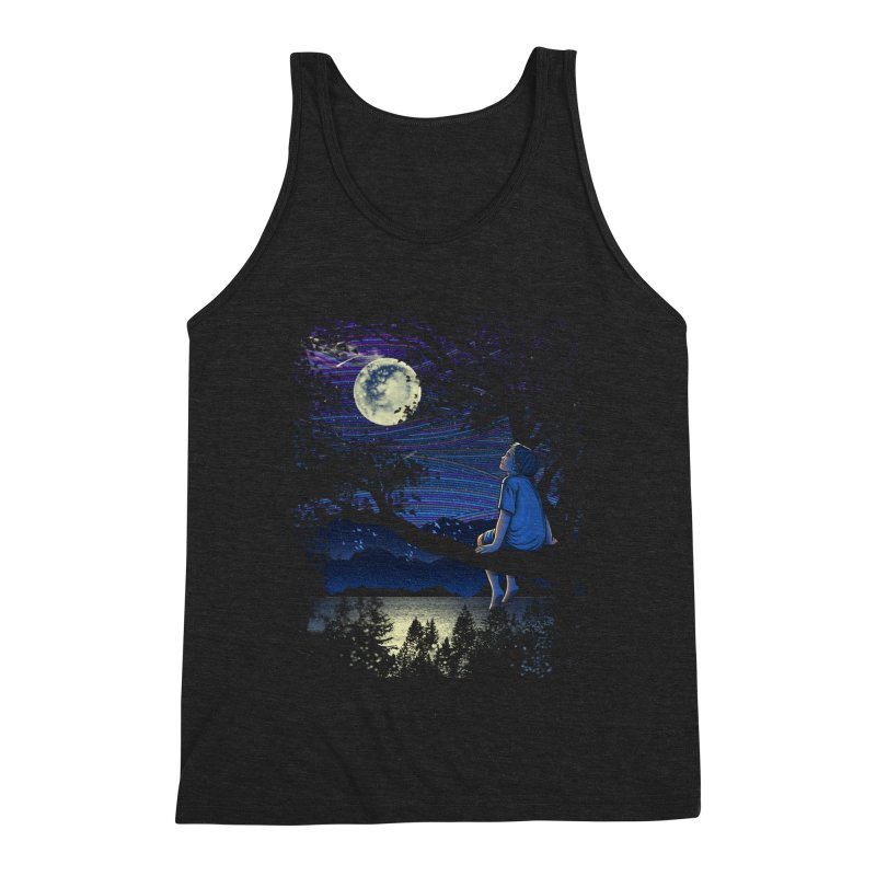 WISHFUL THINKING Men's Triblend Tank by dzeri29's Artist Shop