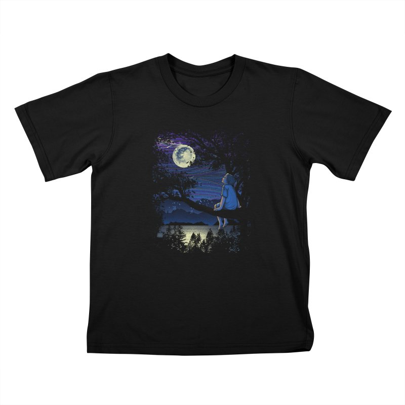 WISHFUL THINKING Kids T-Shirt by dzeri29's Artist Shop