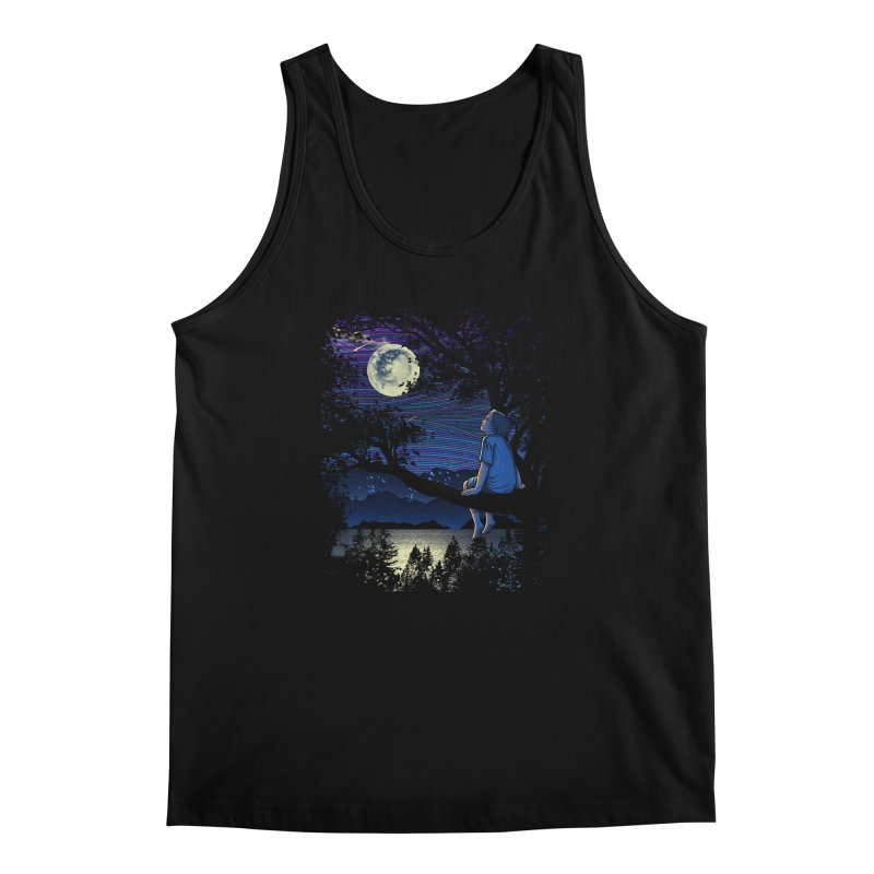 WISHFUL THINKING Men's Regular Tank by dzeri29's Artist Shop