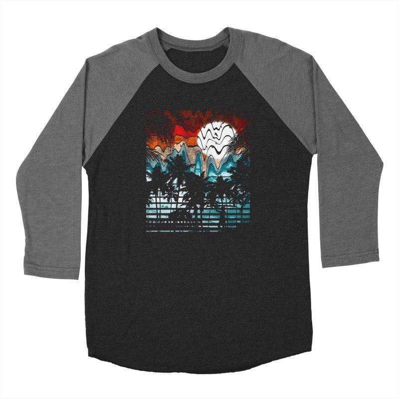 SUMMER MELTDOWN Men's Baseball Triblend Longsleeve T-Shirt by dzeri29's Artist Shop