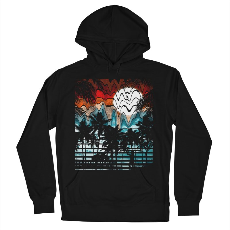 SUMMER MELTDOWN Women's Pullover Hoody by dzeri29's Artist Shop